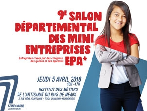 9e salon des mini entreprises le monde des artisans for Salon creation entreprise