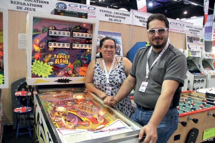 Frédérique et Eric Charton, fabricants et réparateurs de jeux