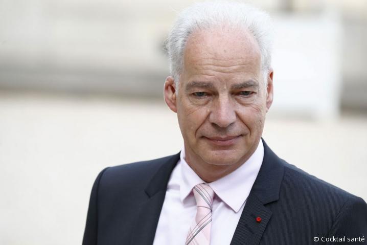 Portrait de Alain Griset, ministre délégué aux PME