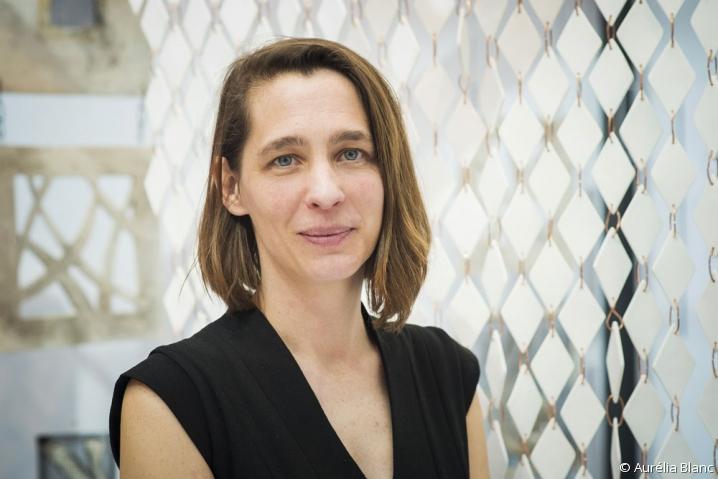 Portrait de Aude Tahon, présidente d'Ateliers d'Art de France