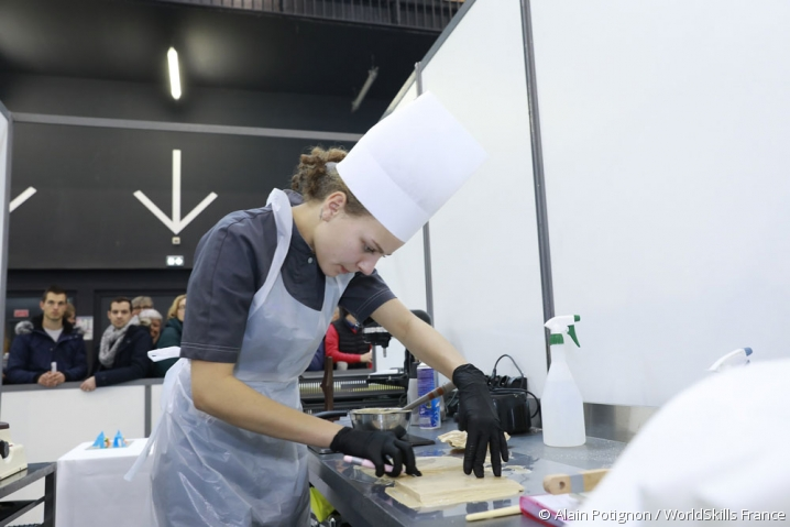 Pâtisserie - Compétitrice des finales nationales worldskills 2017