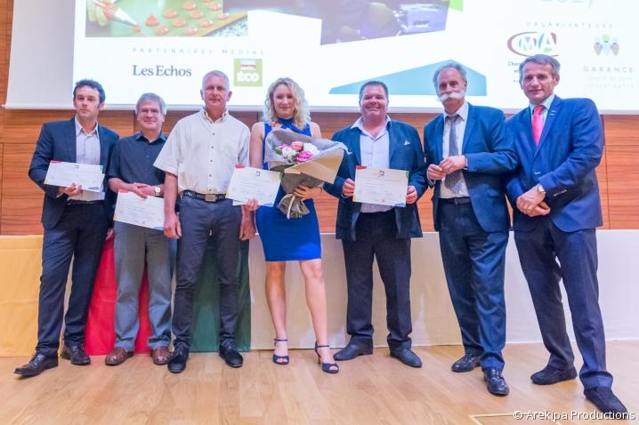 Lauréats 2017 prix du maître d'apprentissage