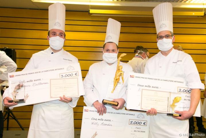 Lauréats du Grand prix de la charcuterie 2020