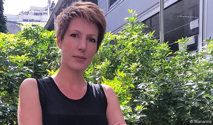 Portrait de la journaliste et essayiste Natacha Polony