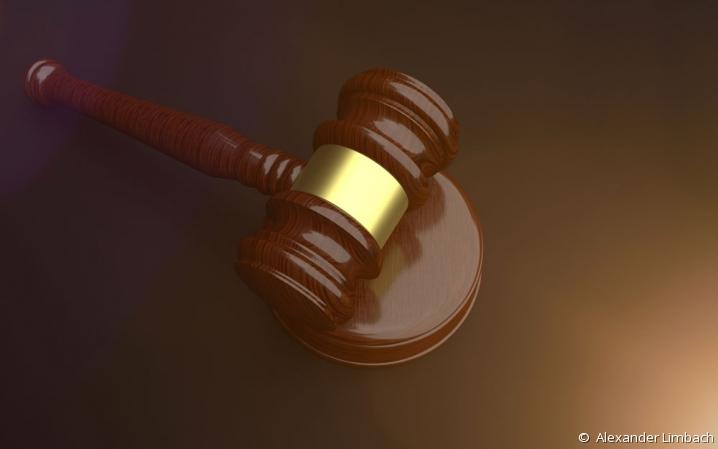 Marteau de président - tribunal