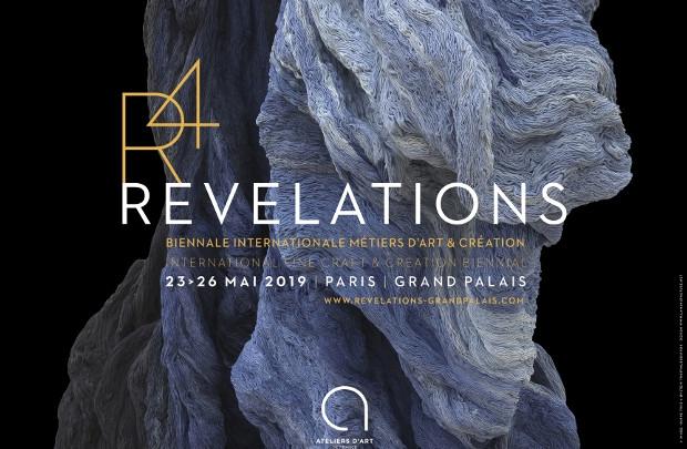 Affiche de la biennale Révélations 2019
