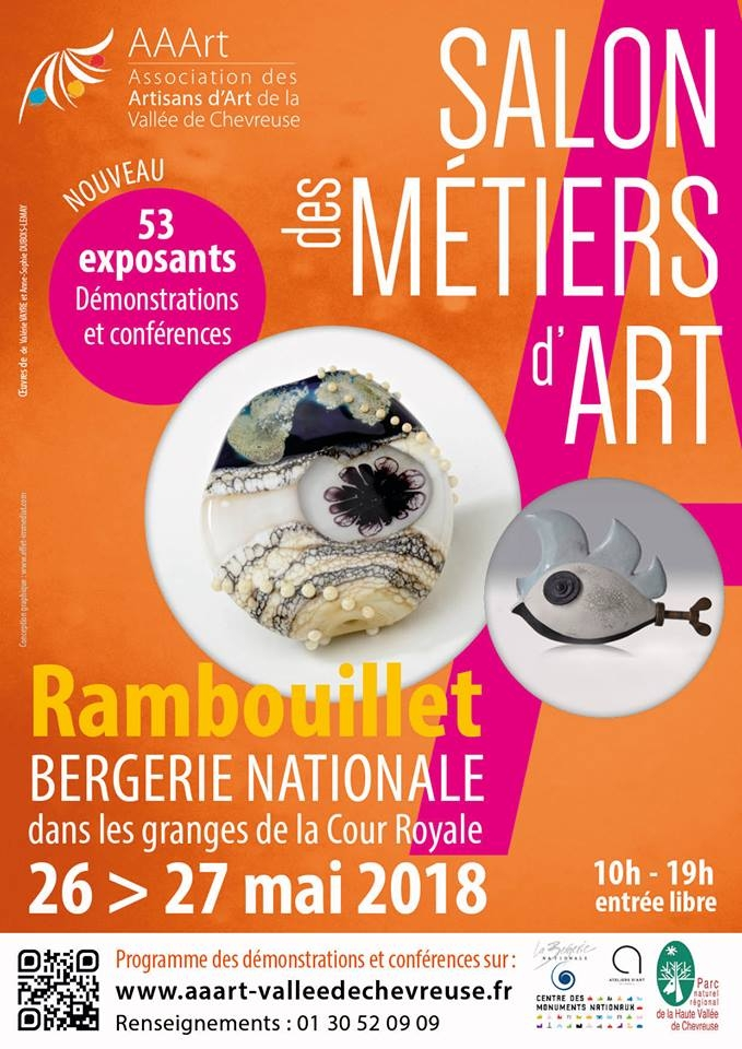 Salon métiers d'art Rambouillet 2018