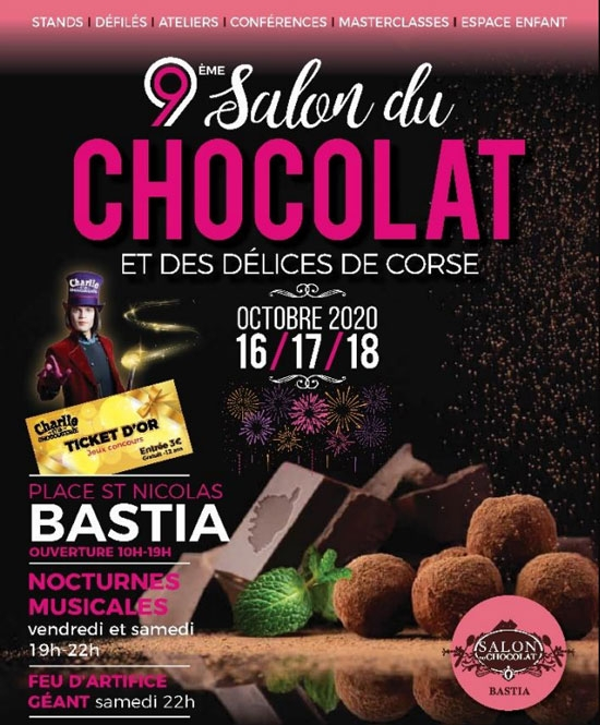 salon du chocolat de bastia