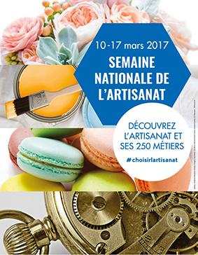 Semaine nationale de l'artisanat 2017