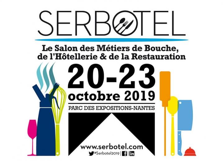 Affiche du salon Serbotel 2019