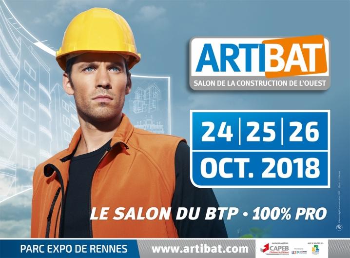 Artibat 2018 le monde des artisans national for Salon professionnel batiment