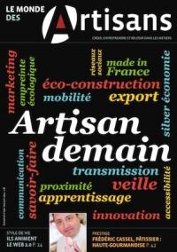 Une du Monde des Artisans 100 Edition nationale