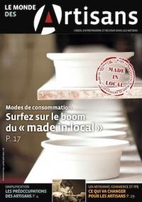 Une du Monde des Artisans 101 Edition nationale