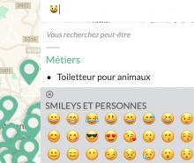 Recherche par emoji