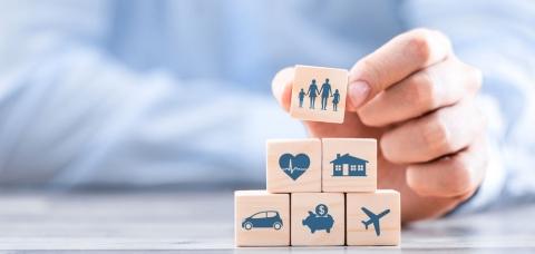 Illustration de l'assurance d'entreprise