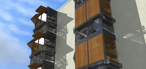 Balmera, le balcon qui apporte de l'espace habitable supplémentaire à un bâtiment et augmente la qualité de vie de ses habitants.