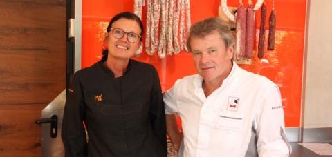 Pascale et Jean-Luc Hoffmann, bouchers-charcutiers à Haguenau