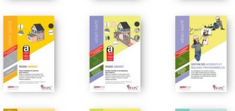 Brochures IRIS-ST prévention BTP
