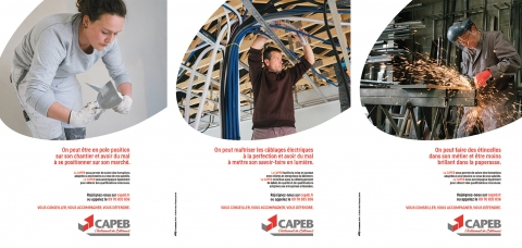 Campagne communication Capeb