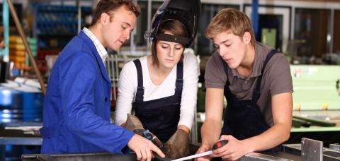 Jeunes apprentis