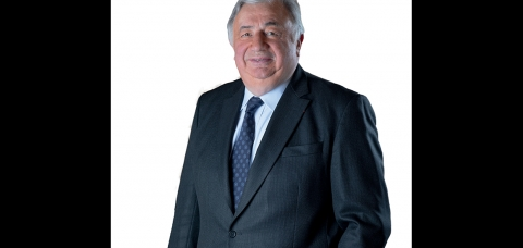 Portrait de Gérard Larcher, président du Sénat