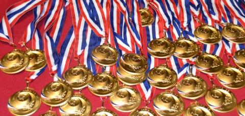 Médailles d'or des lauréats MAF nationaux