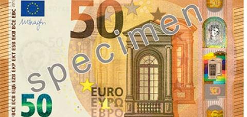 Nouveau billet de 50 euros