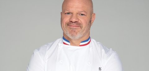 Le chef cuisinier Philippe Etchebest