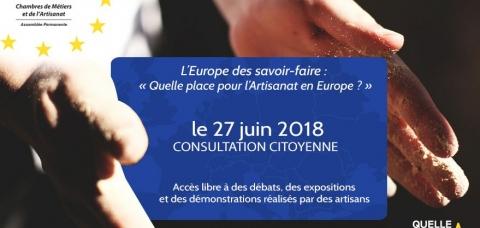 Consultations citoyennes Europe APCMA