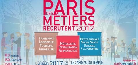 Paris des métiers qui recrutent 2017