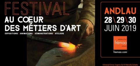 Affiche de l'événement : fer rougi d'un forgeron d'art