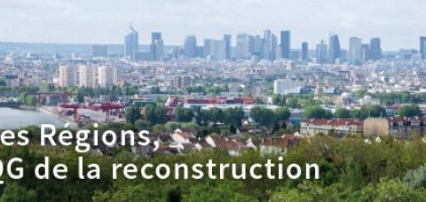 affiche du Congrès de Régions de France 2020