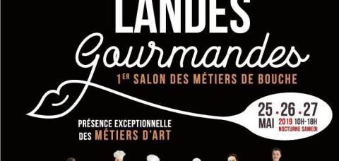 Affiche de Landes Gourmandes 2019