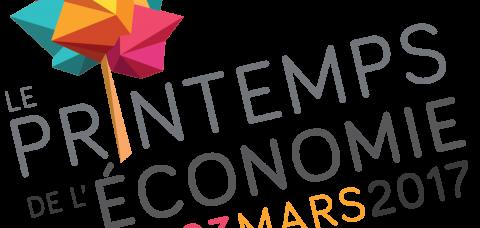 Logo printemps de l'économie 2017