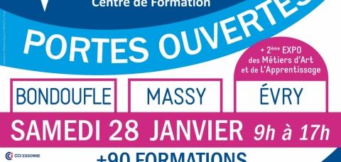 Portes ouvertes faculté des métiers de l'Essonne