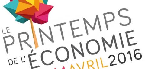 Printemps de l'économie 2016 - logo
