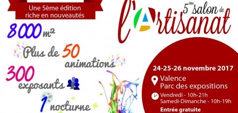 Artisans dr me le monde des artisans national for Salon de l artisanat valence
